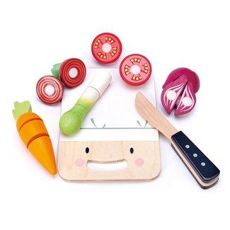 Tender Leaf Toys Houten snijplankje Mini Chef | Tender Leaf Toys