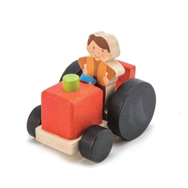 Houten speelset Boerderijschuur | Tender Leaf Toys