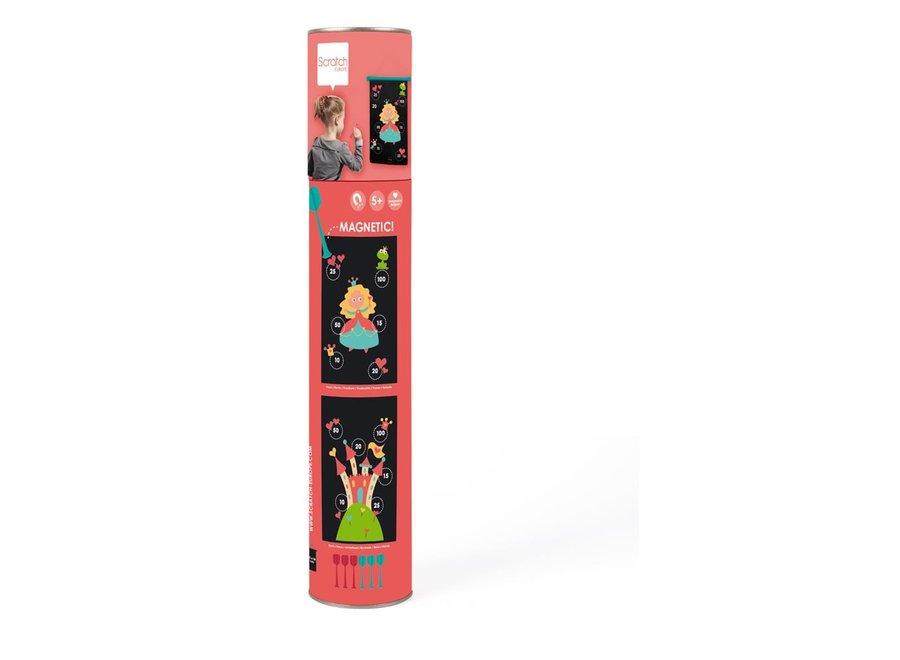 Magnetische Darts Prinses | Scratch