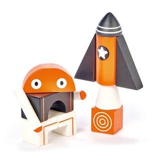 Tender Leaf Toys Magnetische blokken Galaxy | Tender Leaf Toys