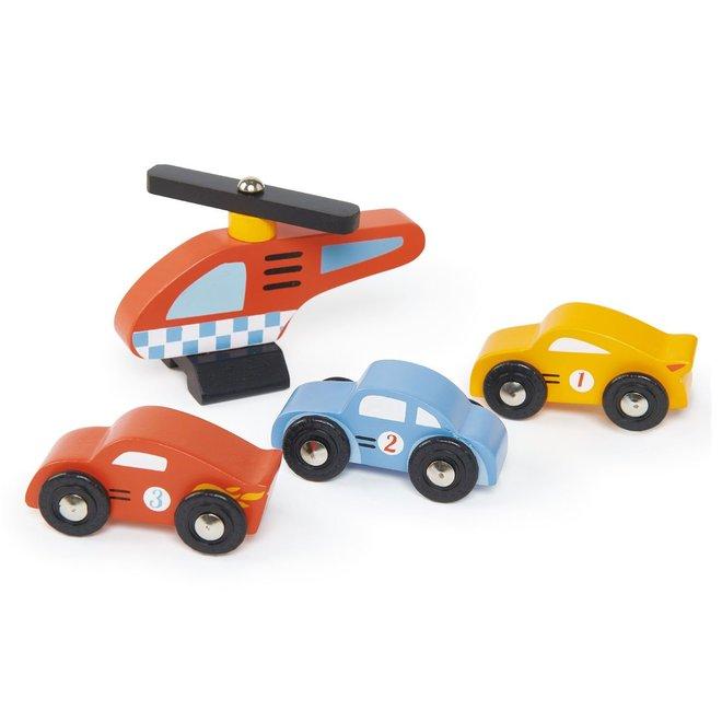 Houten garage & werkplaats | Tender Leaf Toys