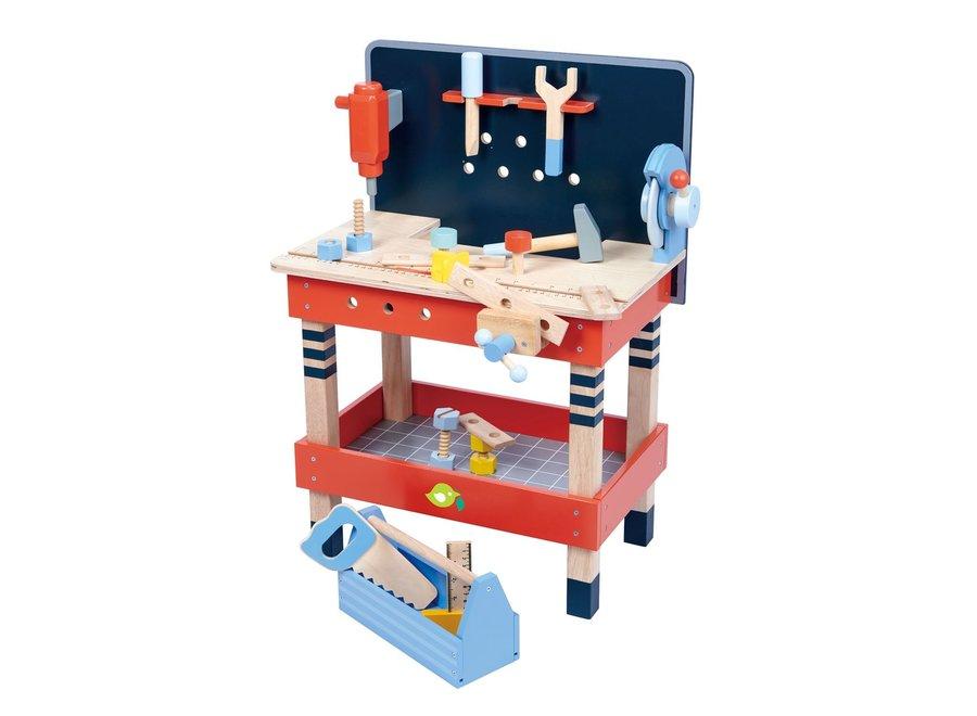 Houten werkbank | Tender Leaf Toys