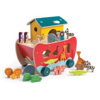 Tender Leaf Toys De Ark van Noah sorteerboot | Tender Leaf Toys