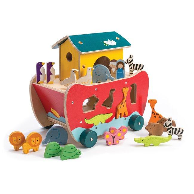 De Ark van Noah sorteerboot | Tender Leaf Toys