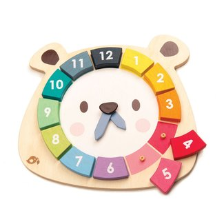 Tender Leaf Toys Leer de klok – houten spel | Tender Leaf Toys