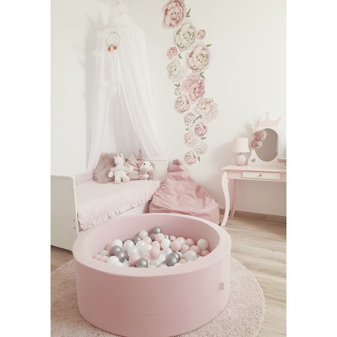 Ballenbad Pink XL + 200 ballen | MiiiMi