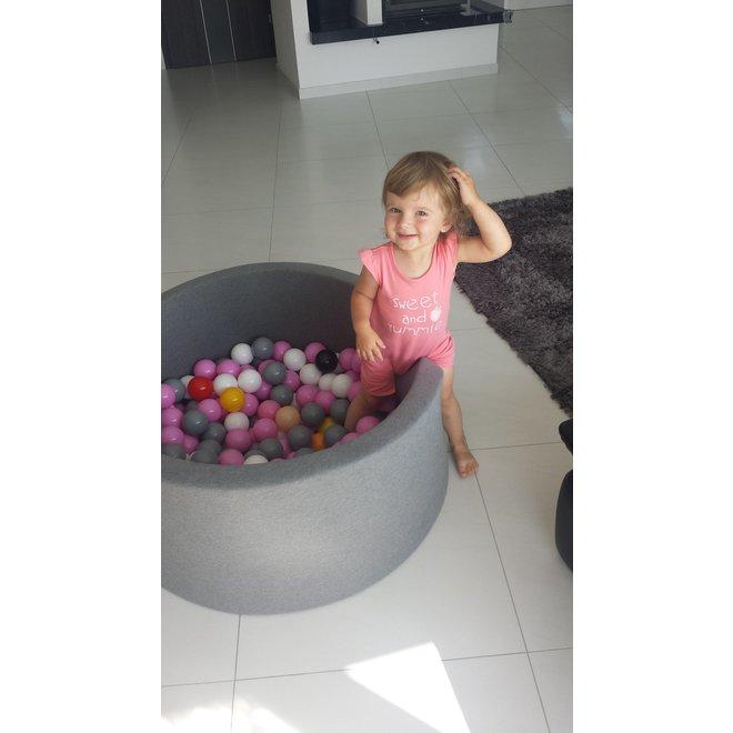 Ballenbad Antraciet  XL + 200 ballen  | MiiiMi