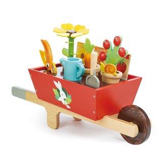 Tender Leaf Toys Houten kruiwagen met tuinset | Tender Leaf Toys