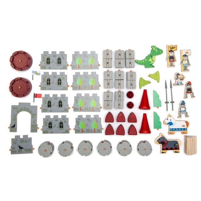 Houten drakenkasteel | Tender Leaf Toys