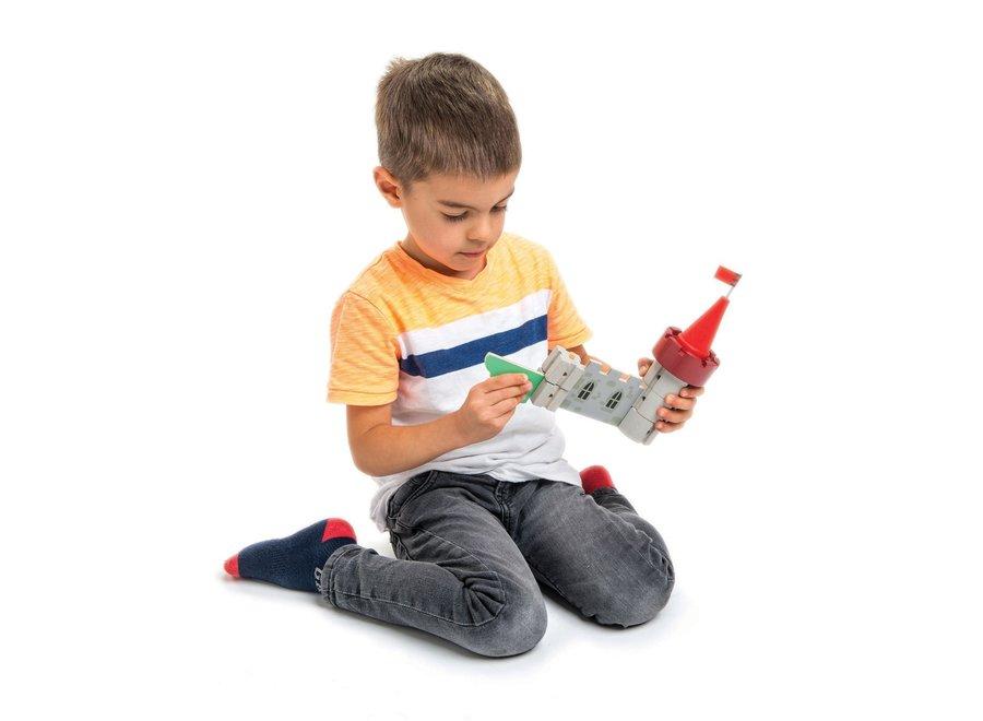 Konijnklijk Kasteel in hout   Tender Leaf Toys