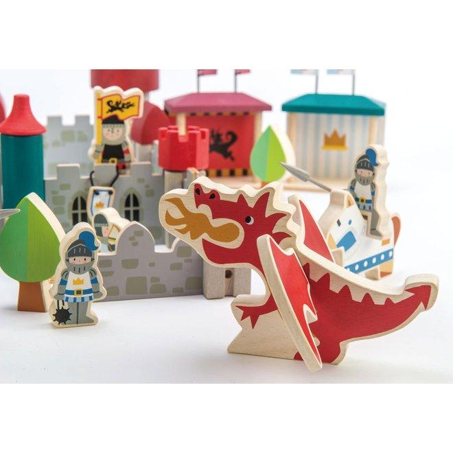 Konijnklijk Kasteel in hout | Tender Leaf Toys