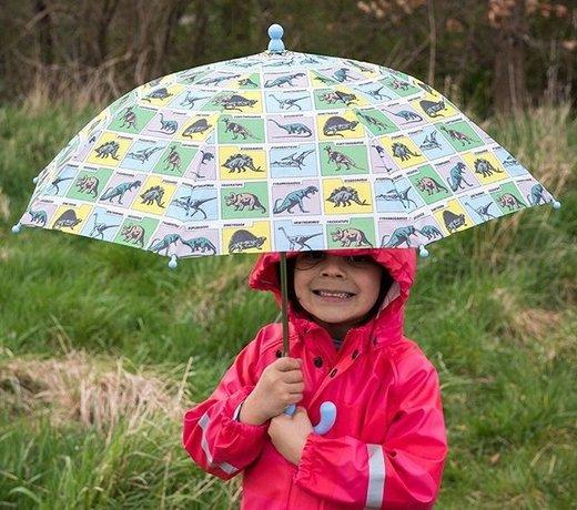 Speciale paraplu's voor kinderen met de leukste thema's