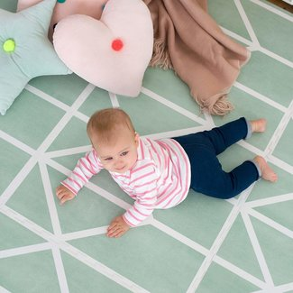Toddlekind Speeltapijt Nordic Neo Matcha | Toddlekind