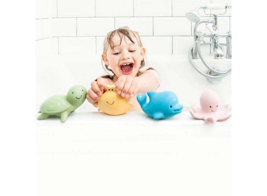 Badspeeltje Dolfijn met belletje | Tikiri