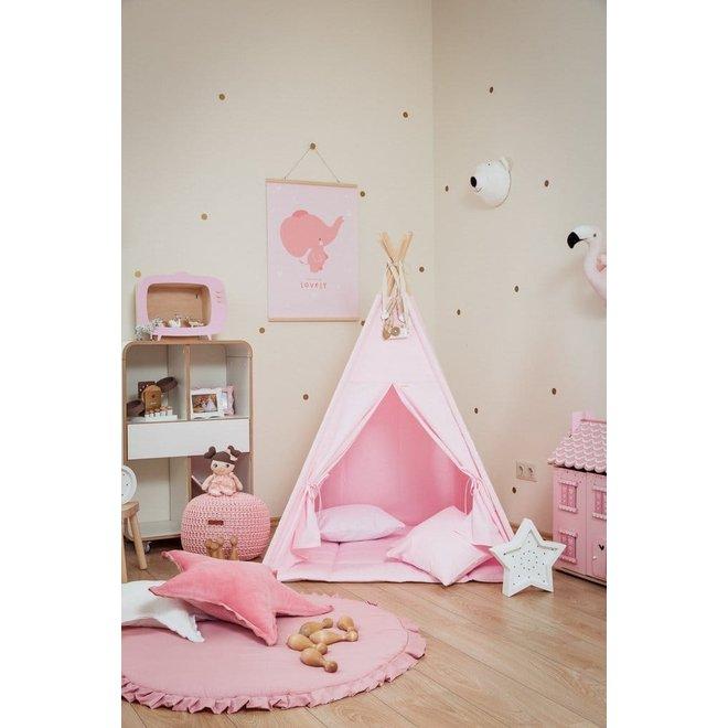 Velvet Speelmat - Pink   WigiWama