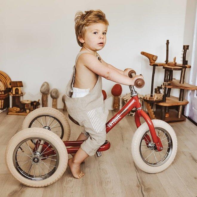 Trybike  Steel 2-1 loopfiets Vintage Red | Trybike