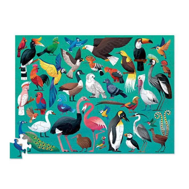 36 Vogels puzzel – 100 stukken    Crocodile Creek