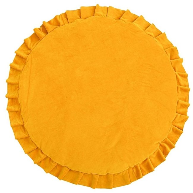 Speelmat Velvet - Mustard   WigiWama
