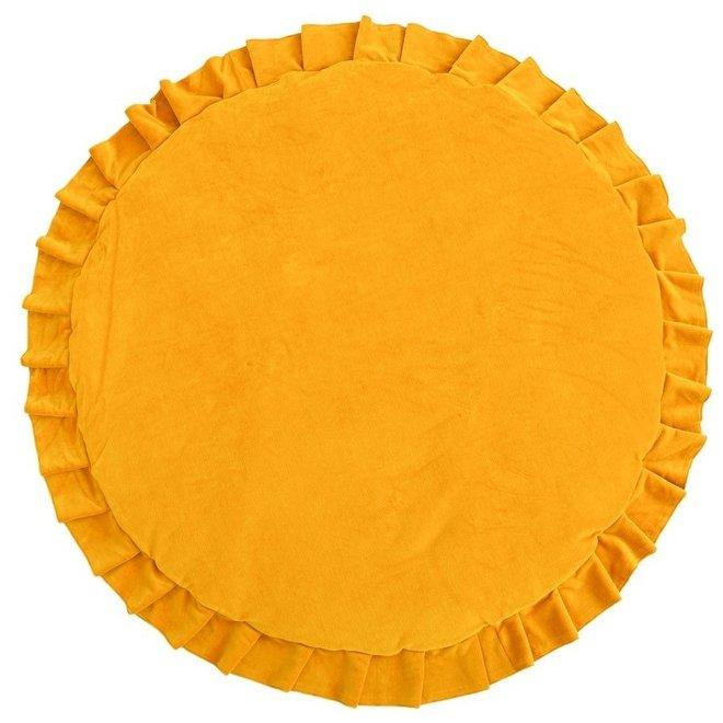 Speelmat Velvet - Mustard | WigiWama