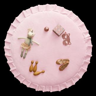 WigiWama Speelmat Velvet  - Pink | WigiWama