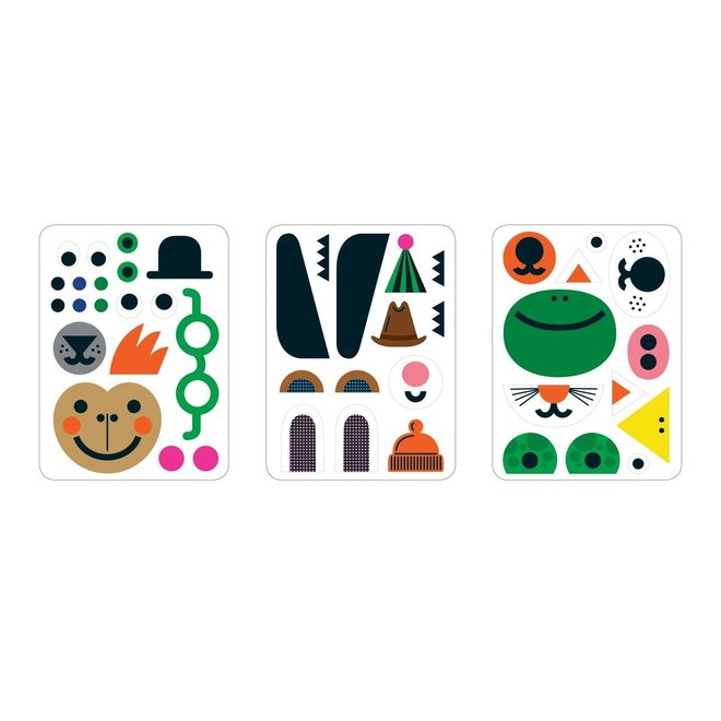 Magneetspel Make-a-Face | Mudpuppy