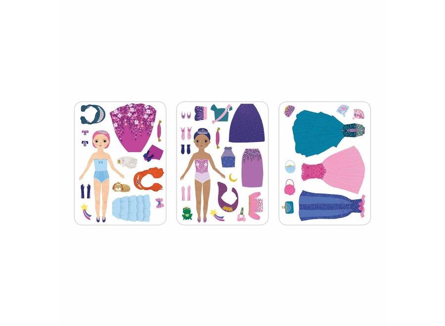 Magneetspel Dress-Up – Prinses | Mudpuppy