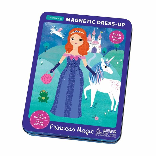 Mudpuppy Magneetspel Dress-Up – Prinses | Mudpuppy
