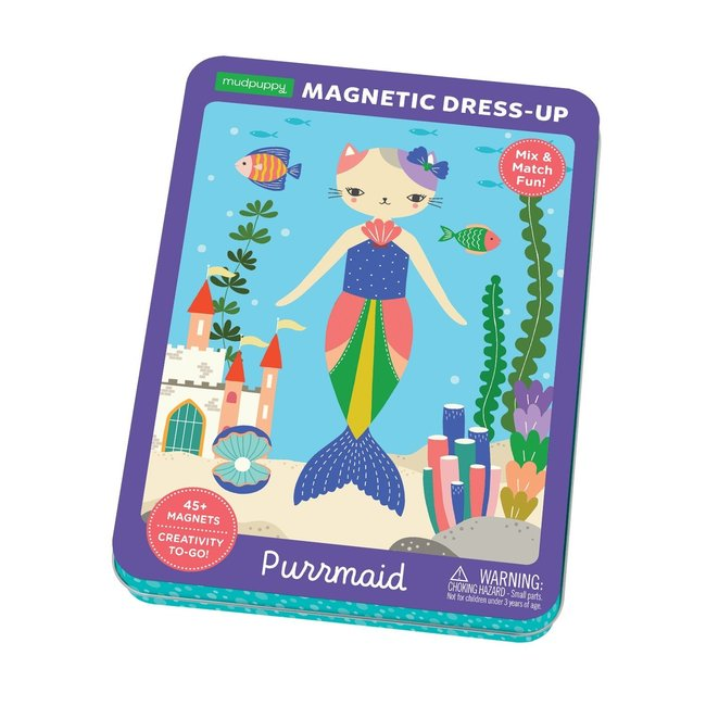 Mudpuppy Magneetspel Dress-Up – Purrmaid | Mudpuppy