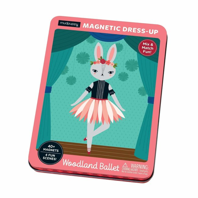 Mudpuppy Magneetspel Dress-Up – Woodland Ballet | Mudpuppy