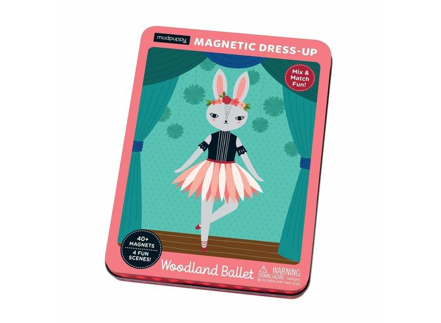 Magneetspel Dress-Up – Woodland Ballet   Mudpuppy