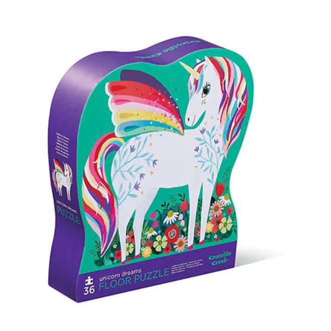 Unicorn Dreams Puzzel – 36 stukken  | Crocodile Creek