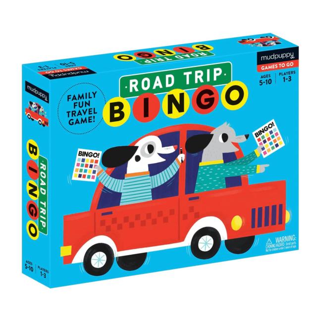 Road Trip Bingo   Mudpuppy