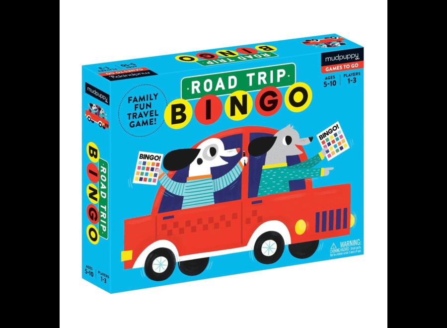 Road Trip Bingo | Mudpuppy