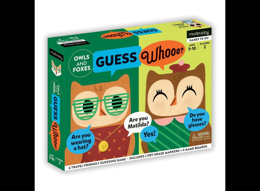 mudpuppy guess whooo uilen vossen mudpuppy - Nog meer leuke tips & spelletjes om je kinderen bezig te houden tijdens een lange autoreis, treinreis of vliegreis