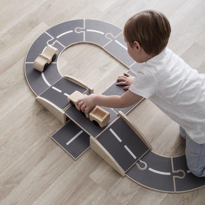 Houten autobaan Aiden   Kid's Concept