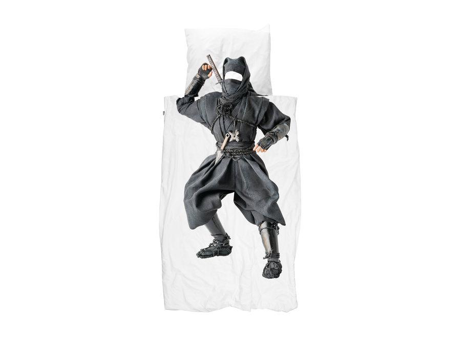 Dekbedovertrek Ninja Eenpersoonsbed 140 x 220/220cm   Snurk