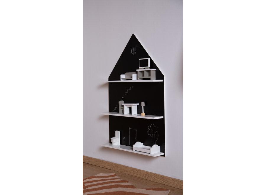 Wandrek & Krijtbord Huis | Childhome