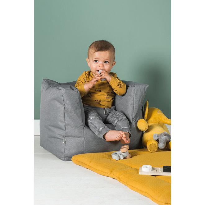Kinderfauteuil / Beanbag Storm Grijs