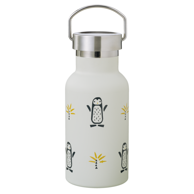Thermos drinkfles Pinguïn 350ml | Fresk