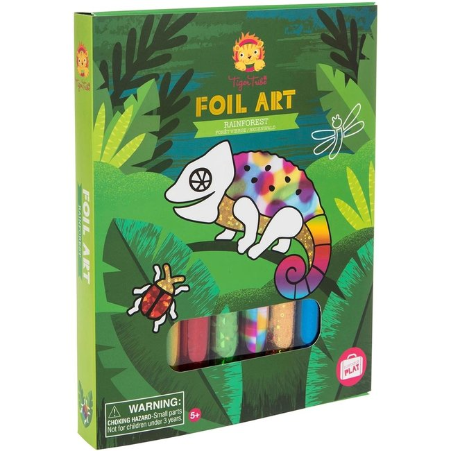 Foil Art - Rainforest   Tiger Tribe