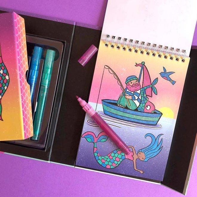 Glitter Ocean Dreams Kleurset | Tiger Tribe