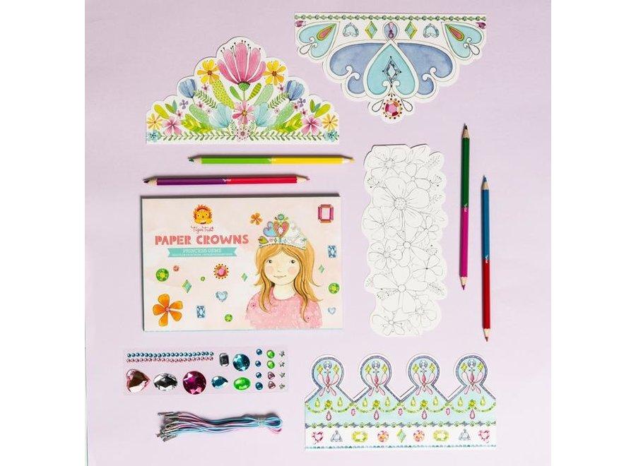 Knutsel & Tekenset Prinsessenkroontjes maken