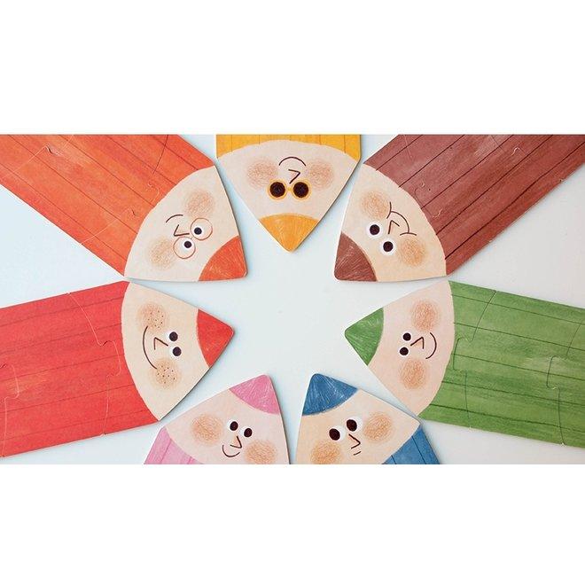 I love my colors Puzzel | Londji