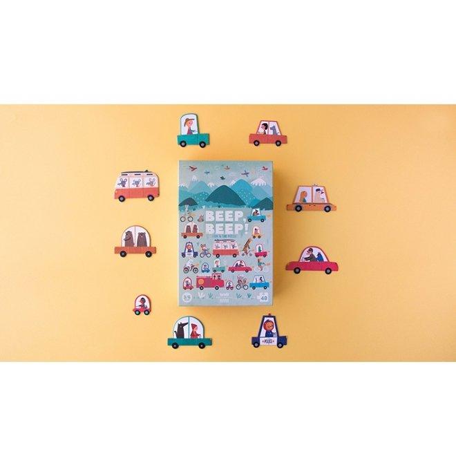Beep Beep! puzzel (48st) | Londji