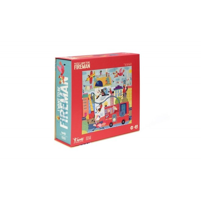 I want to be... Fireman Puzzle (36st) | Londji