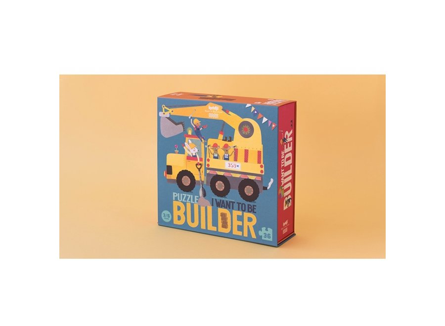 I want to be... builder Puzzel (36st) | Londji