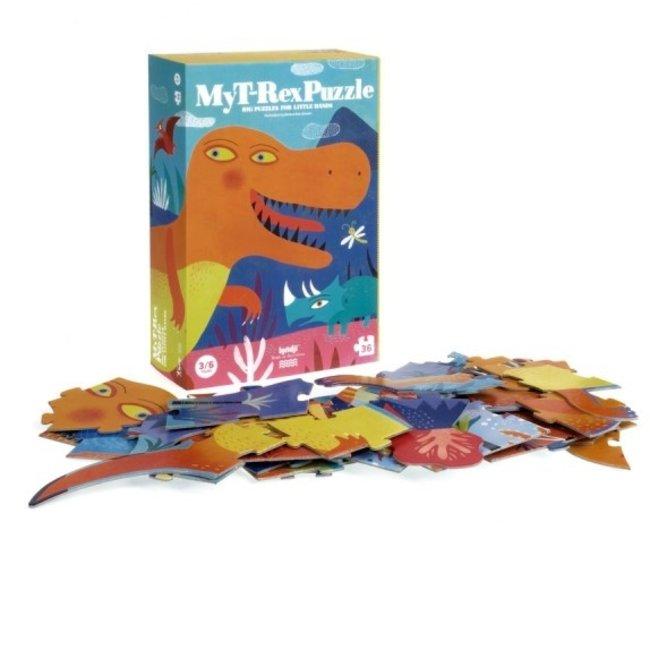 My T-Rex puzzel (36st) | Londji