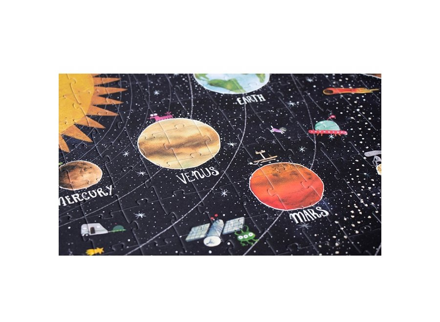Discover the Planets Puzzel (200st)   Londji