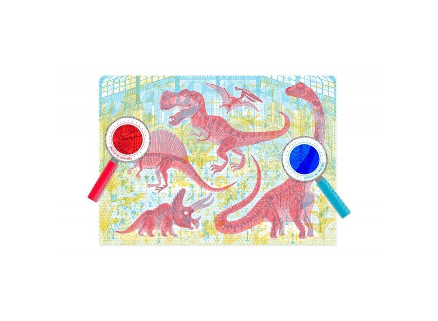 Discover the Dinosaurs Puzzel (200st) | Londji