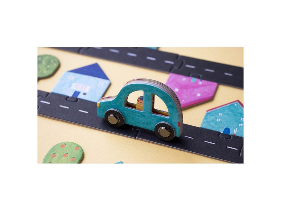 Roads Puzzelspel | Londji